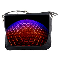 Abstract Ball Colorful Colors Messenger Bags