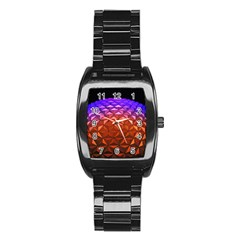 Abstract Ball Colorful Colors Stainless Steel Barrel Watch by Amaryn4rt