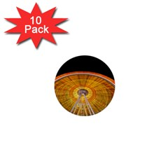 Abstract Blur Bright Circular 1  Mini Buttons (10 Pack)  by Amaryn4rt