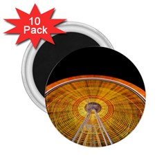 Abstract Blur Bright Circular 2 25  Magnets (10 Pack)  by Amaryn4rt