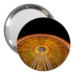 Abstract Blur Bright Circular 3  Handbag Mirrors by Amaryn4rt