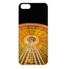 Abstract Blur Bright Circular Apple Iphone 5 Seamless Case (white) by Amaryn4rt