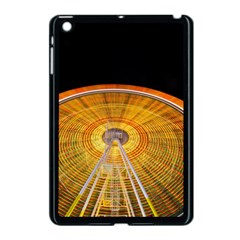 Abstract Blur Bright Circular Apple Ipad Mini Case (black) by Amaryn4rt