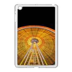 Abstract Blur Bright Circular Apple Ipad Mini Case (white) by Amaryn4rt
