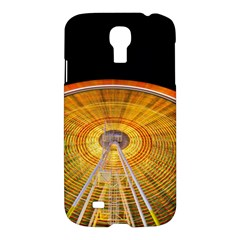 Abstract Blur Bright Circular Samsung Galaxy S4 I9500/i9505 Hardshell Case by Amaryn4rt