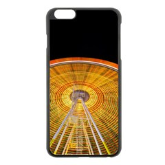 Abstract Blur Bright Circular Apple Iphone 6 Plus/6s Plus Black Enamel Case by Amaryn4rt