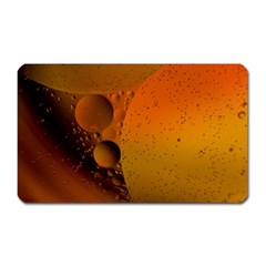 Abstraction Color Closeup The Rays Magnet (rectangular) by Amaryn4rt