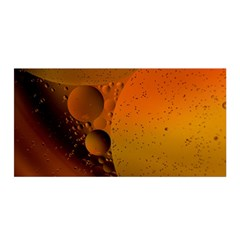 Abstraction Color Closeup The Rays Satin Wrap by Amaryn4rt