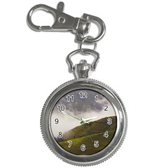 Agriculture Clouds Cropland Key Chain Watches