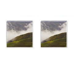 Agriculture Clouds Cropland Cufflinks (square) by Amaryn4rt