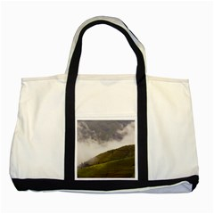 Agriculture Clouds Cropland Two Tone Tote Bag by Amaryn4rt
