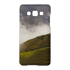 Agriculture Clouds Cropland Samsung Galaxy A5 Hardshell Case  by Amaryn4rt