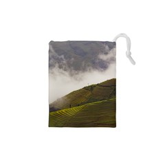 Agriculture Clouds Cropland Drawstring Pouches (xs)