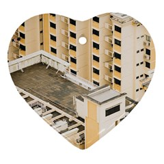 Apartments Architecture Building Ornament (heart) by Amaryn4rt
