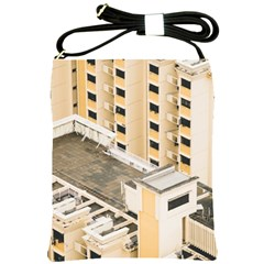 Apartments Architecture Building Shoulder Sling Bags by Amaryn4rt