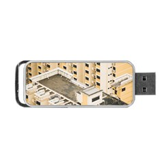 Apartments Architecture Building Portable Usb Flash (one Side)