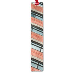 Architecture Building Glass Pattern Large Book Marks by Amaryn4rt