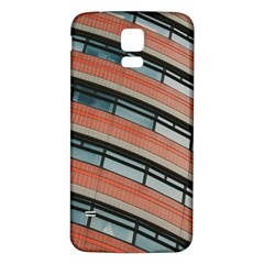 Architecture Building Glass Pattern Samsung Galaxy S5 Back Case (white)