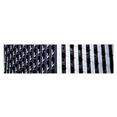 Architecture Building Pattern Satin Scarf (oblong)