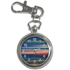 Background Horizontal Lines Key Chain Watches by Amaryn4rt