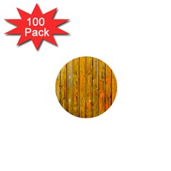 Background Wood Lath Board Fence 1  Mini Buttons (100 Pack)  by Amaryn4rt