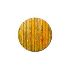 Background Wood Lath Board Fence Golf Ball Marker (4 pack) by Amaryn4rt