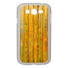 Background Wood Lath Board Fence Samsung Galaxy Grand Duos I9082 Case (white) by Amaryn4rt