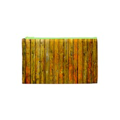 Background Wood Lath Board Fence Cosmetic Bag (xs) by Amaryn4rt