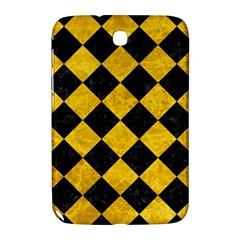Square2 Black Marble & Yellow Marble Samsung Galaxy Note 8 0 N5100 Hardshell Case  by trendistuff
