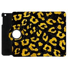 Skin5 Black Marble & Yellow Marble (r) Apple Ipad Mini Flip 360 Case by trendistuff