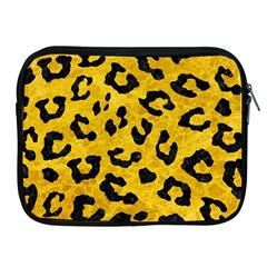 Skin5 Black Marble & Yellow Marble Apple Ipad Zipper Case by trendistuff