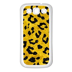 Skin5 Black Marble & Yellow Marble Samsung Galaxy S3 Back Case (white) by trendistuff
