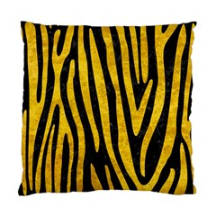 Skin4 Black Marble & Yellow Marble (r) Standard Cushion Case (one Side) by trendistuff