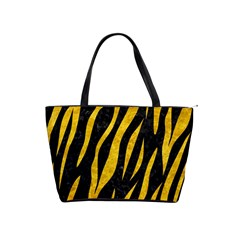 Skin3 Black Marble & Yellow Marble Classic Shoulder Handbag by trendistuff