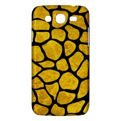 Skin1 Black Marble & Yellow Marble Samsung Galaxy Mega 5 8 I9152 Hardshell Case  by trendistuff