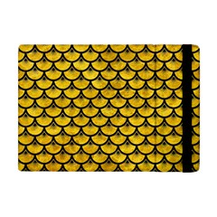 Scales3 Black Marble & Yellow Marble (r) Apple Ipad Mini Flip Case by trendistuff