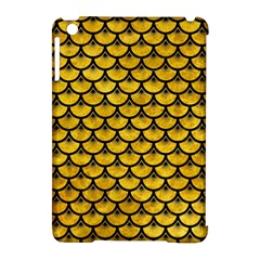 Scales3 Black Marble & Yellow Marble (r) Apple Ipad Mini Hardshell Case (compatible With Smart Cover) by trendistuff