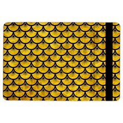 Scales3 Black Marble & Yellow Marble (r) Apple Ipad Air 2 Flip Case by trendistuff