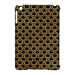 Scales2 Black Marble & Yellow Marble Apple Ipad Mini Hardshell Case (compatible With Smart Cover) by trendistuff