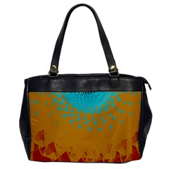 Bluesunfractal Office Handbags by digitaldivadesigns