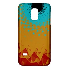 Bluesunfractal Galaxy S5 Mini by theunrulyartist
