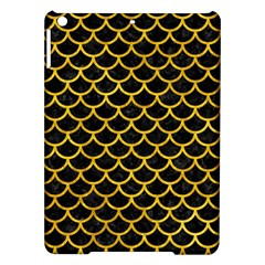 Scales1 Black Marble & Yellow Marble Apple Ipad Air Hardshell Case by trendistuff
