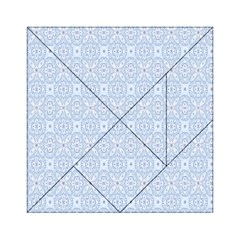 Winter Is Coming Acrylic Tangram Puzzle (6  X 6 ) by designsbyamerianna