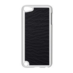 Black Pattern Sand Surface Texture Apple Ipod Touch 5 Case (white) by Amaryn4rt