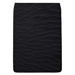 Black Pattern Sand Surface Texture Flap Covers (s)