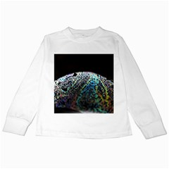 Bubble Iridescent Soap Bubble Kids Long Sleeve T Shirts by Amaryn4rt