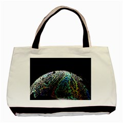 Bubble Iridescent Soap Bubble Basic Tote Bag (two Sides) by Amaryn4rt
