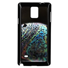 Bubble Iridescent Soap Bubble Samsung Galaxy Note 4 Case (black) by Amaryn4rt