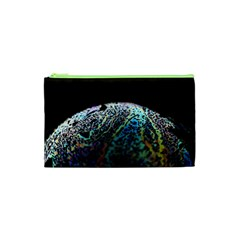 Bubble Iridescent Soap Bubble Cosmetic Bag (xs) by Amaryn4rt