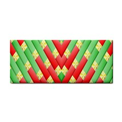 Christmas Geometric 3d Design Cosmetic Storage Cases by Amaryn4rt
